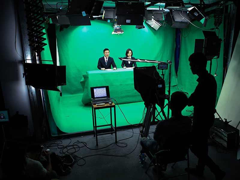 set up phong livestream chuyen nghiep