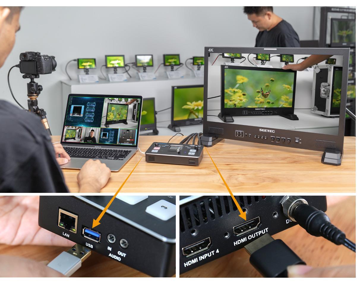 LIVEPRO L1 video switcher