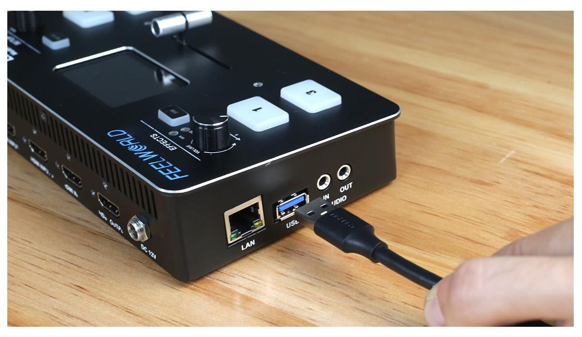 USB live streaming