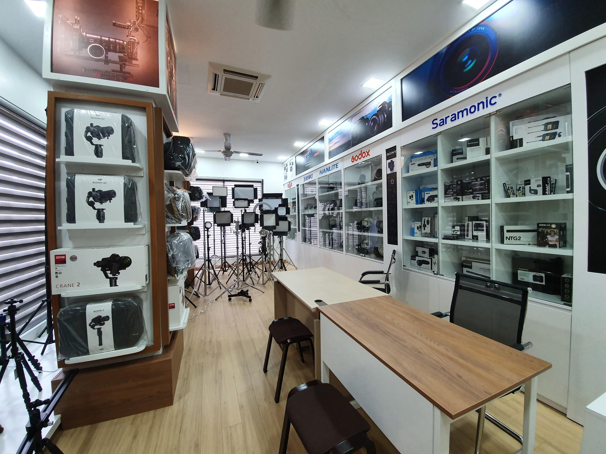 Những trang thiết bị hiện đại cho phòng livestream